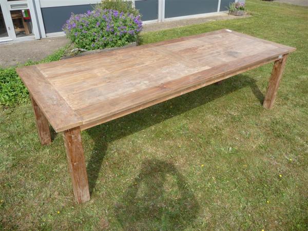Teak tafel oud hout cm teakmeubelen